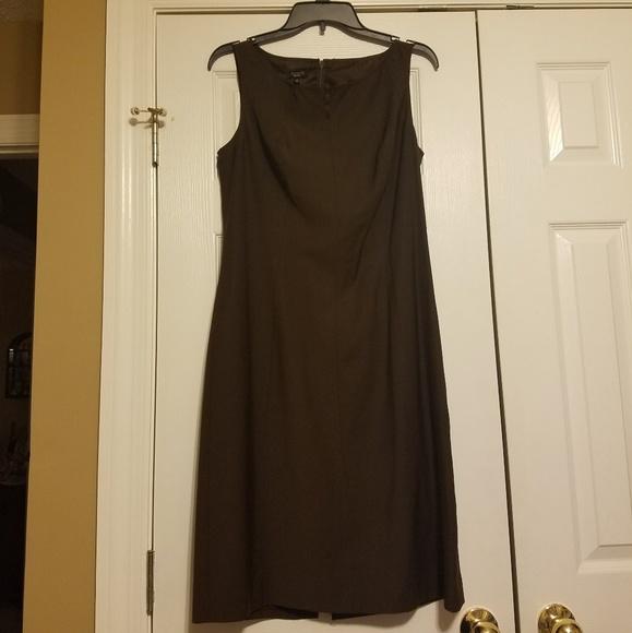 Talbots Dresses & Skirts - Talbots Brown Sleeveless Dress size 10